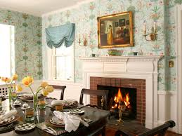 Dining Room Murals How To Pick Wallpaper Hgtv