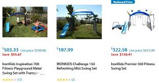 Flexible Flyer Backyard Swingin Fun Metal Swing Set Swing Sets For San Diego U2013 Features 6 Trusted Suppliers Swing