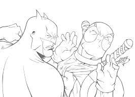 batman deadpool 2013 lucasackerman deviantart