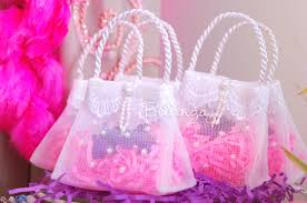 tulle bags mini purse party favors the shop at bellenza