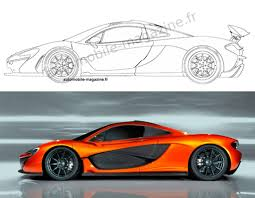 supercar drawing image alleged patent drawing for production mclaren p1 image