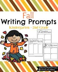 fall writing prompts planning playtime