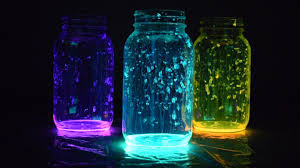 glow in the how to make glow in the jars