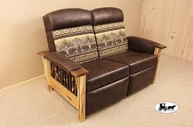 rustic sofas and loveseats amish adirondack style futons sofas and love seats