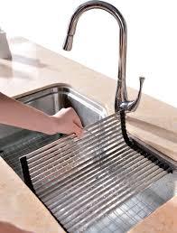 ideas amazing kitchen sink accessories dsu3118 sink drain mat