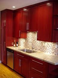 Red Kitchen Cabinets Ideas Amazing Home Decor Amazing Home Decor - Red kitchen cabinet knobs