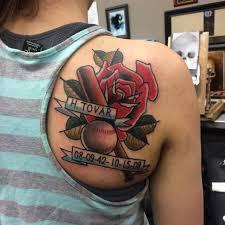 baseball tattoos truetattoos
