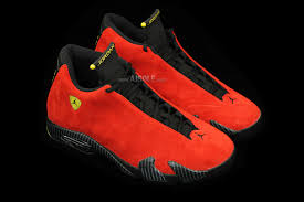 ferrari shoes air jordan 14