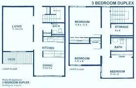 3 bedroom 2 bath floor plans 3 bedroom apartment floor plan 2 bedroom floor plans 3 bedroom