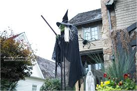 Flying Witch Decoration Halloween Decor Part 1 Outside