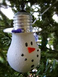 snowman lightbulb ornament diy and crafts snowman and ornaments
