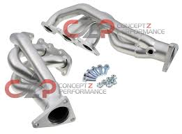 nissan 370z long tube headers stillen ultra long tube dual intakes exhaust systems hi flow