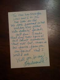 asking of honor poem cousin bridesmaid poem wedding ideas
