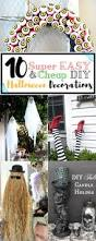 the 25 best halloween decorations diy easy ideas on pinterest