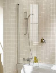 lakes classic square bath screen 800 x 1500mm silver ss50 05