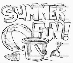 teenage coloring pages printable small boat and beach coloring page for kids seasons pages