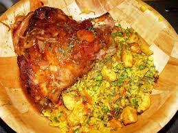 cuisine jarret de porc jarret de porc laqué et confit recette de jarret de porc laqué et