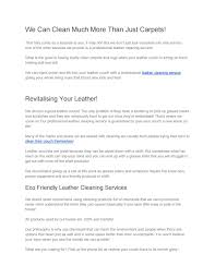 great surprise to see our leather cleaning services cleaning service and leather furniture