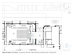 national theatre floor plan gallery of national theatre haworth tompkins 27