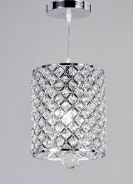 New Chandelier New Galaxy Lighting Chrome Finish 1 Light Metal Shade