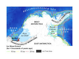 Antarctica On World Map by Mapping Ice Sheets Of The Past Boston University Antarctic