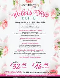 mother s mother s day buffet at anthony s pier 9 new windsor ny