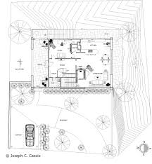 hillside house plans for sloping lots hillside house a point in design