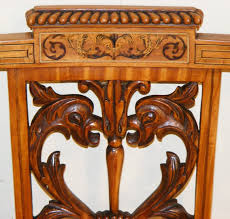 Edwardian Bedroom Furniture by An Edwardian Satinwood And Inlaid Bedroom Chair Long Melford