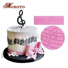 Christmas Cake Decorations On Ebay by Aliexpress Com Buy New Music Christmas Fondant Cake Design Lace