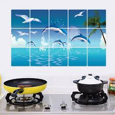 Sticker For Tiles Kitchen - online get cheap wall stickers for kitchen tiles aliexpress com