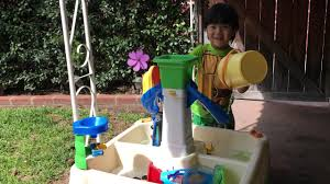 Water Table Toddler Toddler Play Little Tikes Water Table Toys Youtube