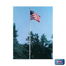 Flag Stands Outdoor Amazon Com American Flag 6x10 Ft Nylon Solarguard Nyl Glo By