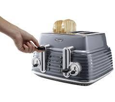 Deloghi Toaster Buy Delonghi Ctz4003gy Scultura Delonghi Toaster Gun Metal