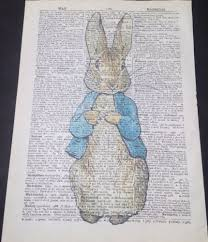 peter rabbit famous quote framed print beatrix potter