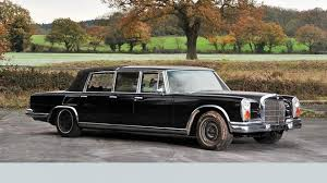 mercedes auction mystery mercedes 600 six door landaulet heads to auction autoweek