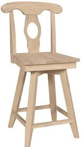 Unfinished Wood Bar Stool Archive With Tag Unfinished Wood Bar Stools And Dining Chairs