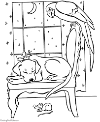 coloring pages dogs christmas murderthestout