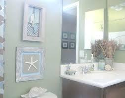 beach themed bathroom decor gives calming feelings and beach