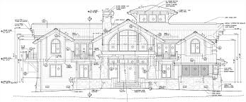 autocad house drawings home construction architecture plans 43026