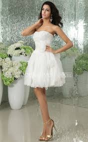sweetheart short wedding dress with flowers and satin sash
