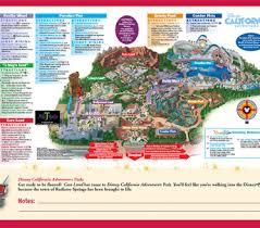 map of california adventure disney california adventure park map best plus anaheim inn