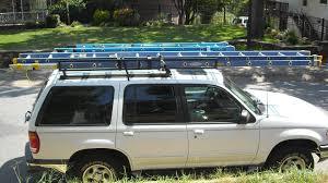 Ford Explorer Roof Rack - 98 explorer ladder rack ford explorer and ford ranger forums
