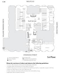 Floor Plan by Mount Prospect Public Library Book Return And Floor Plans