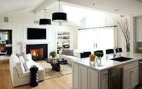 kitchen great room ideas kitchen family room design trendy contemporary kitchens open