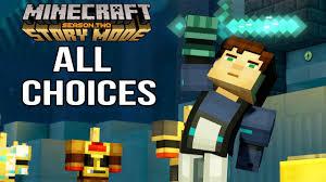 minecraft story mode season 2 all choices u0026 ending episode 1