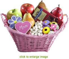 mothers day basket s day banquet of fruit gift basket