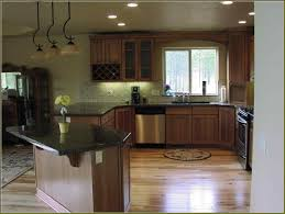 Dark Cabinets With Light Floors Amazing Light Hardwood Floors With Dark Cabinets Images Best