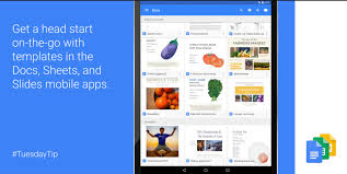 google docs templates resume google docs sheets slides now have templates on android devices google docs sheets slides now have templates on android devices