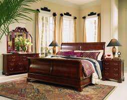 Gorgeous Bed Frames Bedroom Gorgeous Bedroom Design With Brown Cherry Bed Frame
