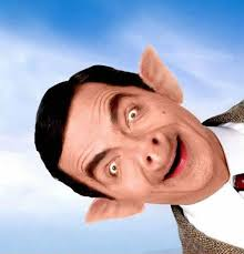 Mr Bean Thanksgiving Funny Photoshopped Pictures Funny Pic Of Mr Bean